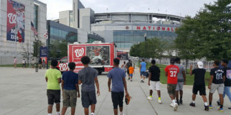 TFE Attends the Nats Home Game