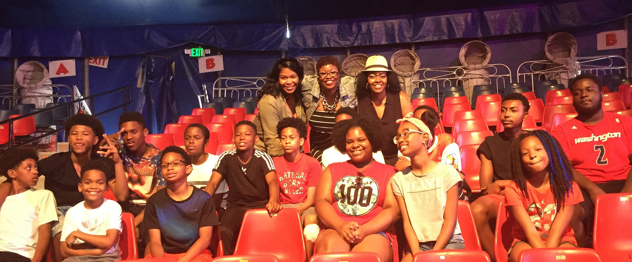 TFE Attends UniverSoul Circus