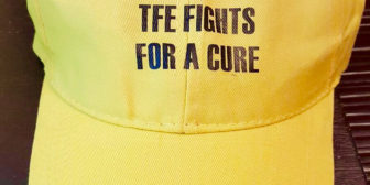 TFE goes Gold to Support Childhood Cancer & Caps for Kids