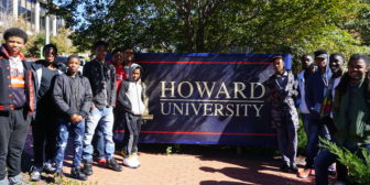 Tailor Made Hosts a Tour of Howard University's Campus