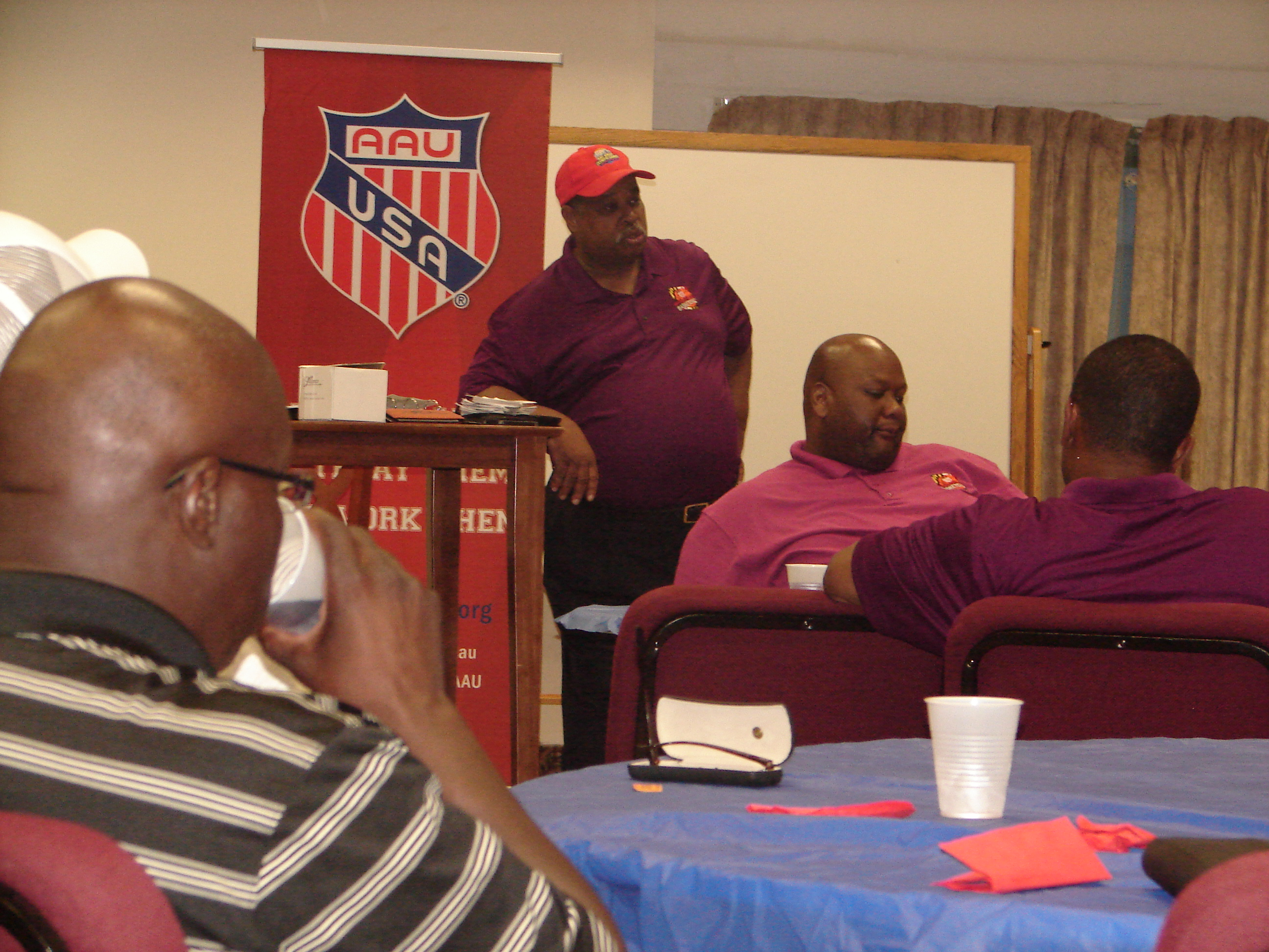 TFE Hosts Tri-County Town Hall Meeting with AAU MD District Governor Ben Dubose