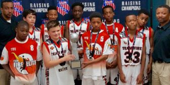 TFE 12U Wins 2nd Place AAU Championship