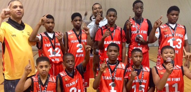 Team Fire Elite 13u Wins 2nd Place in December DMV All Stars Holiday Classic