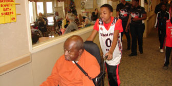 Team Fire Elite Warms the Hearts of Seniors of Genesis Nursing Facility