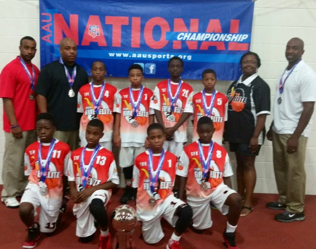 TFE 11U Wins 2nd Place in AAU Nationals