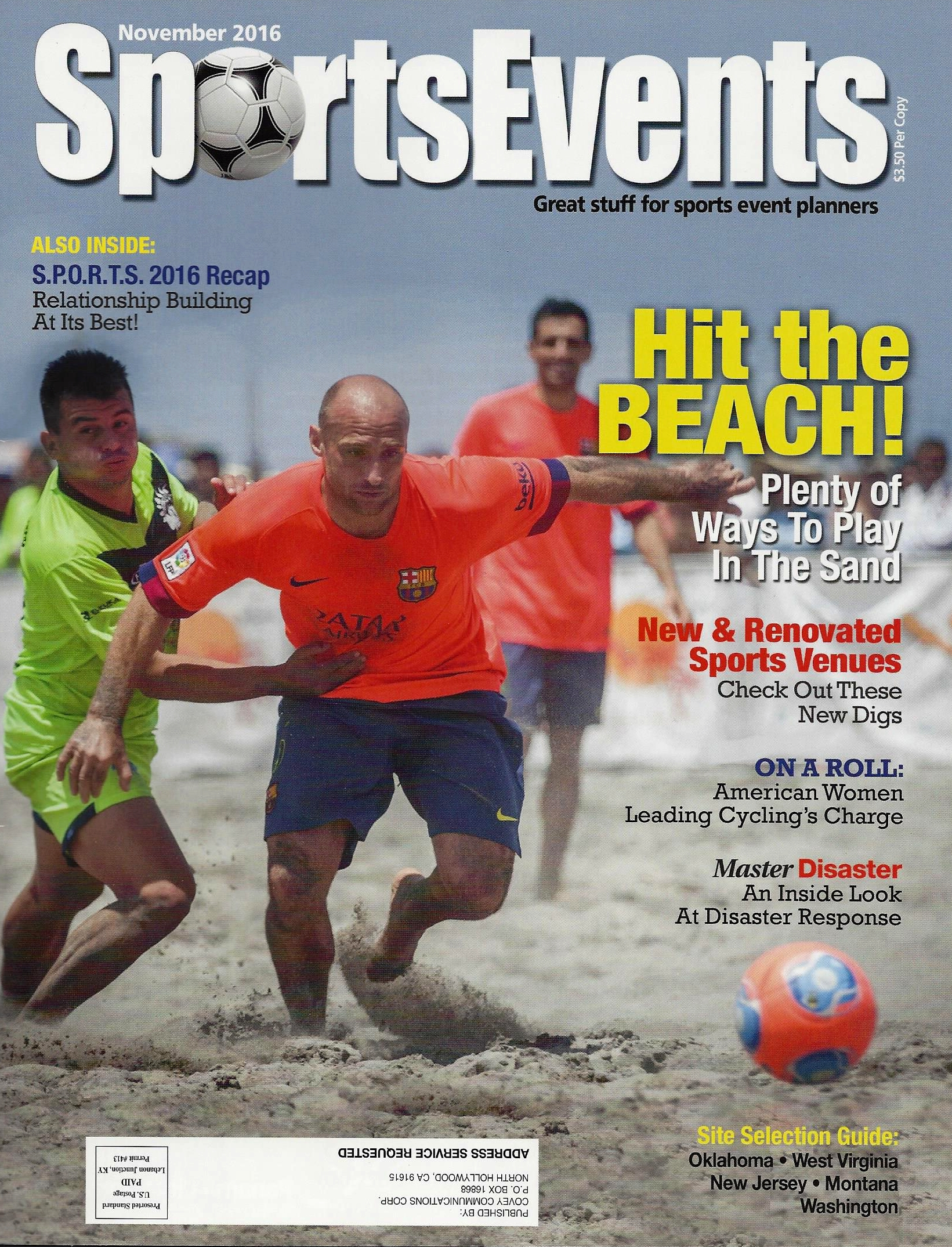 TFE Featured in Sports Events Magazine – Read All About It!