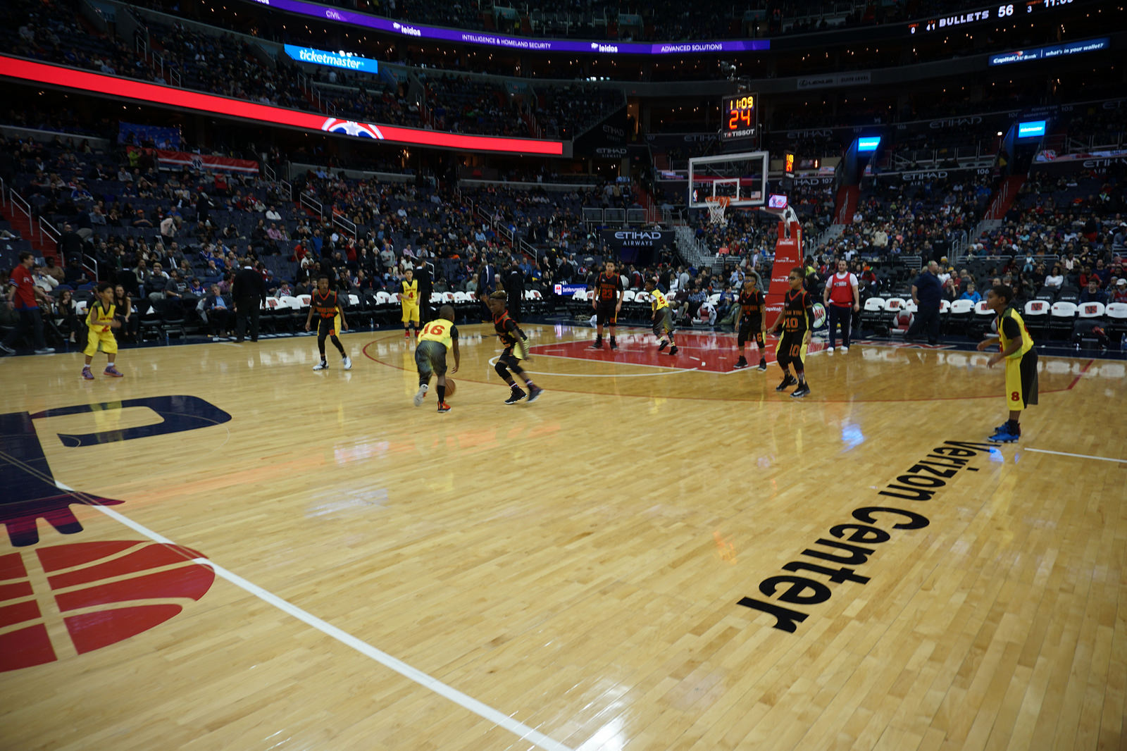 TFE's Midgets Halftime Showcase @ Verizon Center