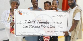 TFE Scholar's 3rd Annual Honorable Mention Awardee – Malik Hamlin