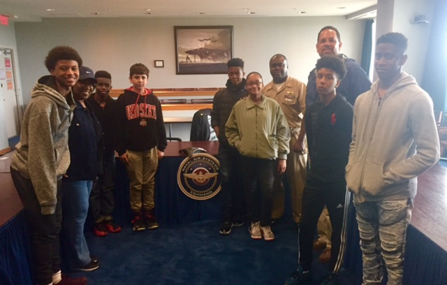 TFE Visits NAVAIR Command Pax River